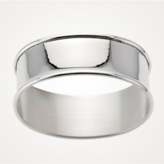 Serviettenring in 925/- Silber von der Firma Hermann Bauer