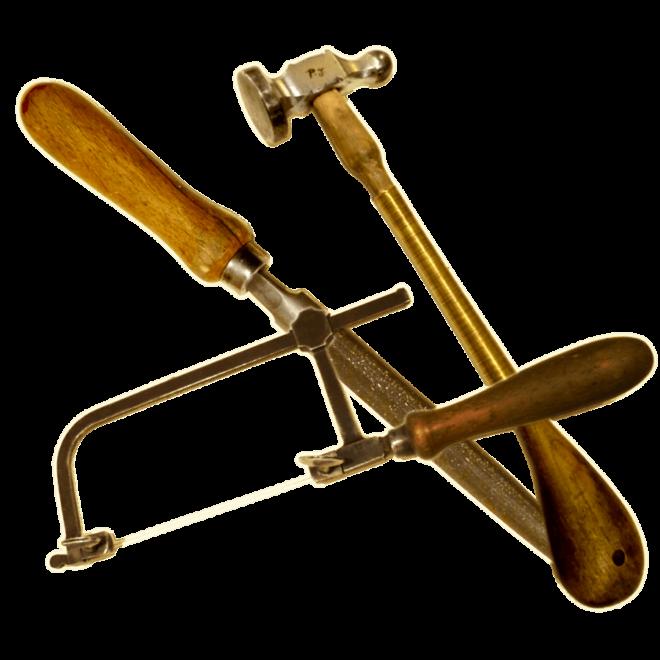 Werkzeug Goldschmiede